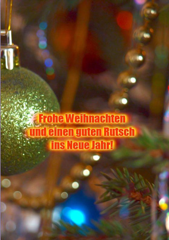 Beispiele Für Weihnachtsgrüße.Grusskarte Frohe Weihnachten Beispiel 1