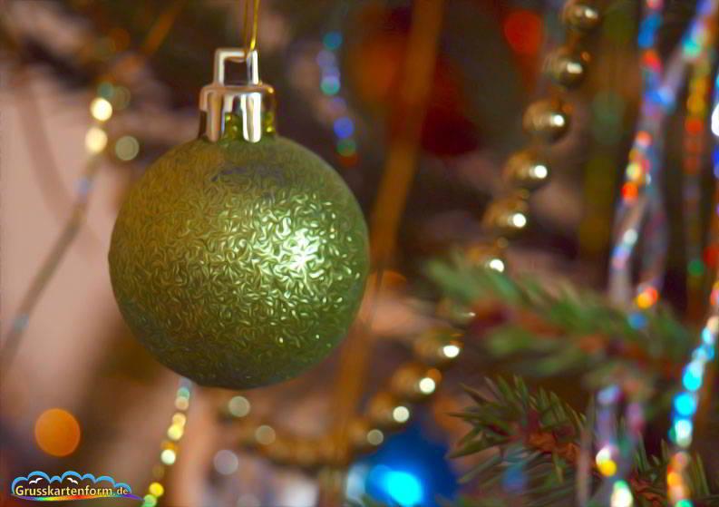 weihnachten querformat  einkaufstasche im querformat